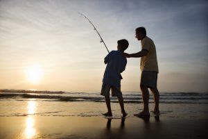 fishing in Sandbridge