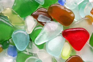 sea glass in sandbridge